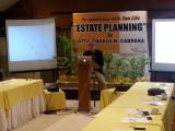 Private briefing at the Almont Hotel in Butuan